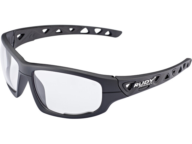 Rudy Project Airgrip Okulary rowerowe, black matte - impactx photochromic 2 black